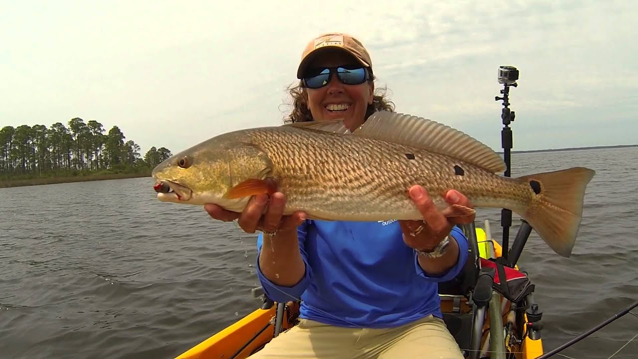 Flats fishing for redfish in panama city beach youtube for Panama city florida fishing