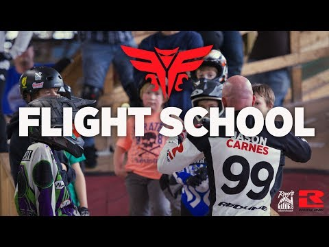 Redline BMX Flight Clinic with Alise Post and Jason Carnes
