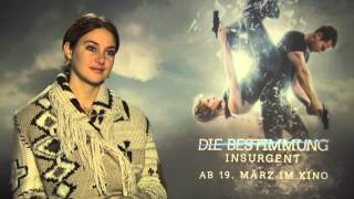 Shailene Woodley : why short hair? NEW Interview INSURGENT + ALLEGIANT