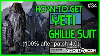 Ghost Recon Wildlands - How to unlock Yeti Ghillie Suit