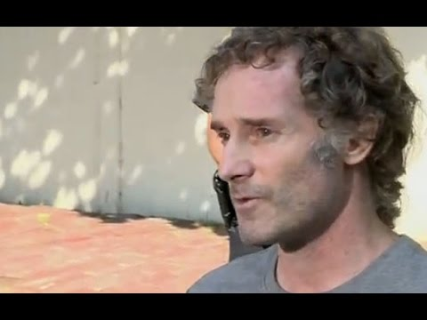 Freed US journalist Peter Curtis 'overwhelmed' by welcome home