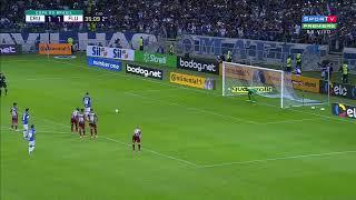 GOL DA VIRADA : Thiago Neves de novo Cruzeiro 2x1 Fluminense