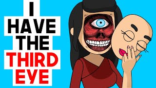 I Cheated In a Competition By Using My Hidden Third Eye | share my story animated | Life Diary