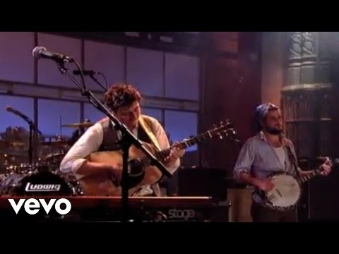 Mumford & Sons - Little Lion Man (Live @ Letterman)