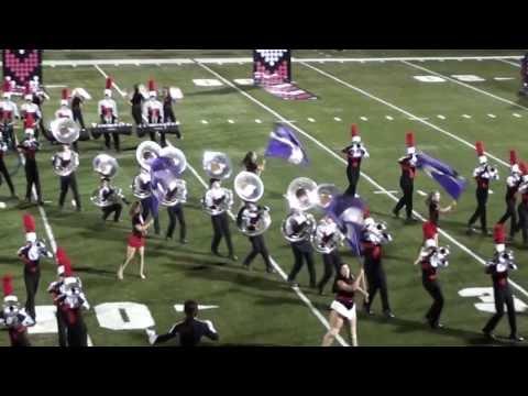 Seven Tuba Pileup during halftime show
