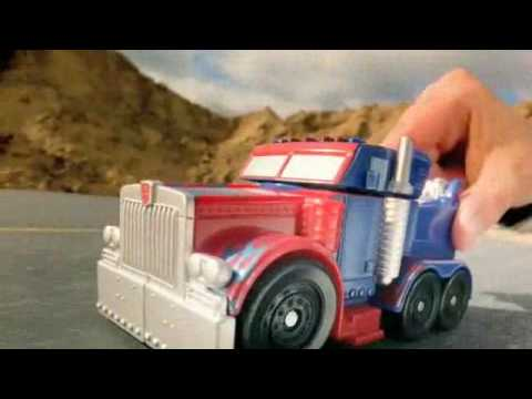 TRANSFORMERS Mega Power Bots Commercial