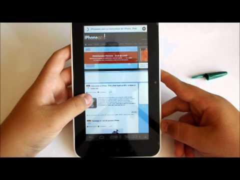 REVIEW A710 TABLET CAPACITIVE TOUCHSCREEN CON ICS (4.0.3) (ESPAÑOL) HD