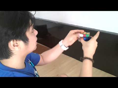 How to solve Rubiks cube yexel Part 2