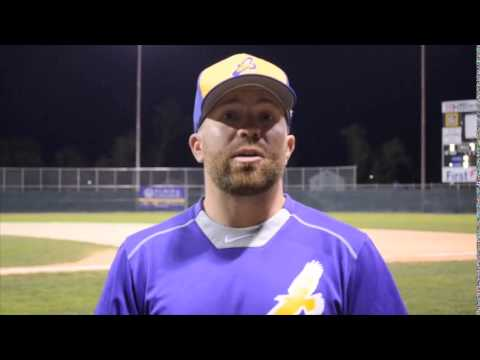 Elmira College Baseball Post Game Interview with Head Coach Corey Paluga