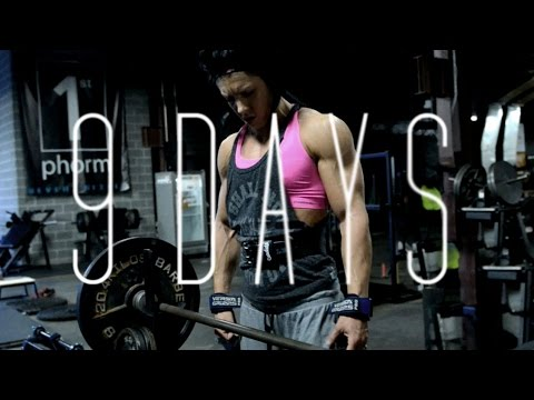 9 days from the stage | OLYMPIA 2014 | Dana Linn Bailey