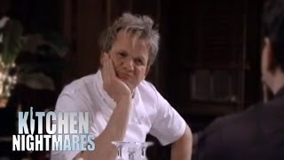 You you and you chef ramsay explodes kitchen for Q kitchen nightmares