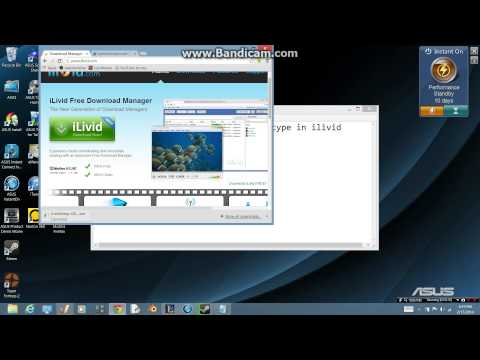 how to download movies using i livid download manager