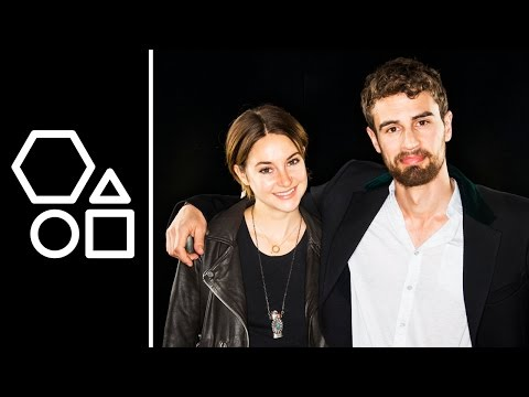 Shailene Woodley & Theo James Talk 'Insurgent' | AOL BUILD