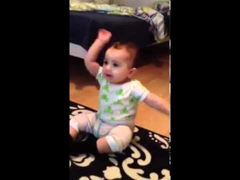 Baby Dancing On Opa Gangnam Style video