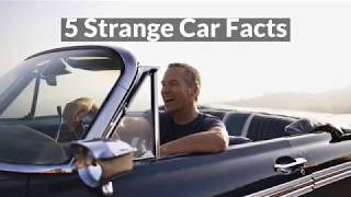 5 Strange Car Facts