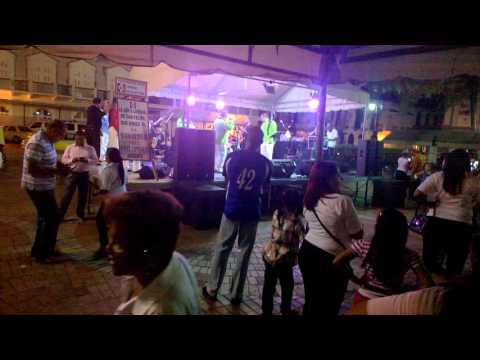 Live music in Casco Viejo, Panama