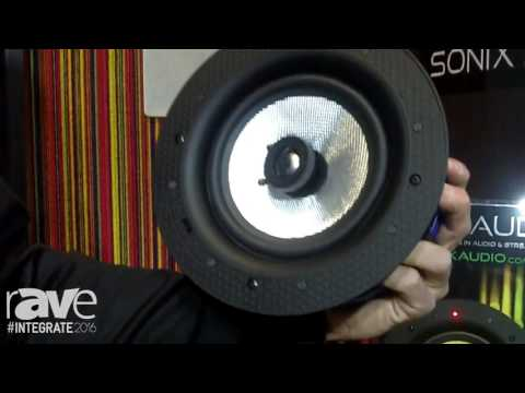 Integrate 2016: Sonix Audio Features Its ZL1-BT In-Ceiling Bluetooth Speaker