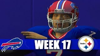 ESPN NFL 2K5 BILLS FRANCHISE - TOO HOT! VS STEELERS (S1W17)