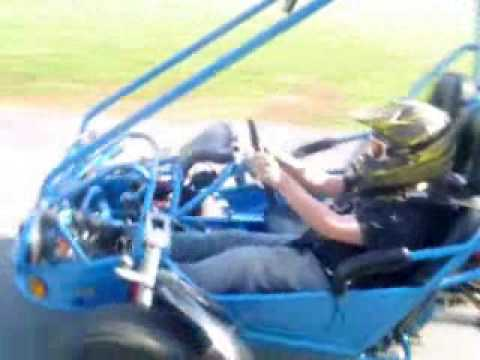 2005 HammerHead Twister 150 Mini Buggy Go Kart WalkAround and Virtual Ride