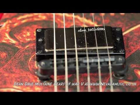 Gears of War Guitar Gears of War v Guitar
