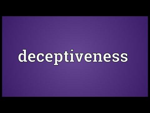 Header of deceptiveness