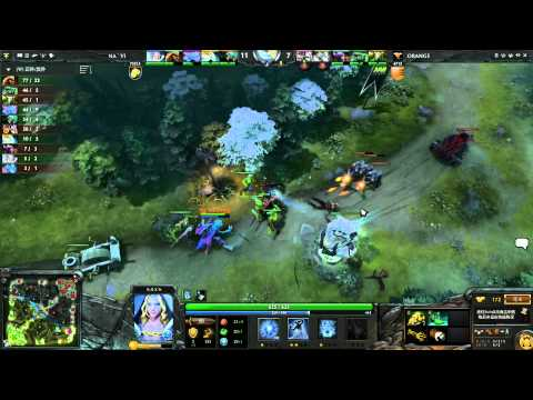 Orange vs Na'Vi LB Round 6A 2 of 3   Chinese Commentary