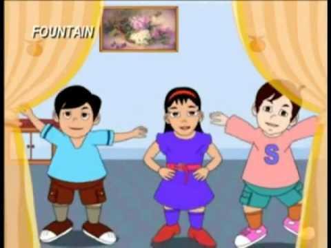 Marathi Balgeet   Dhimiki Dhimiki Dhim Dhim   Animated Song video