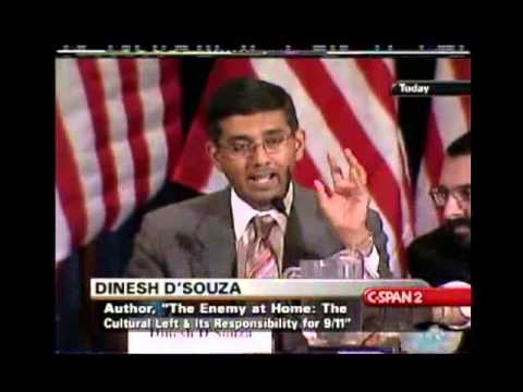 Terrorism and Extremism; Roots of Extremism debate -  Robert Spencer vs Dinesh 1/2