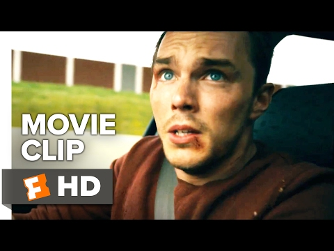 Collide Movie CLIP - Autobahn Chase (2017) - Nicholas Hoult Movie