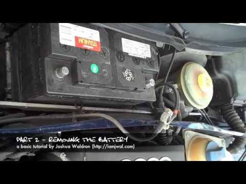 1999 Audi A6. 1999 Audi A6 Water Leak DIY