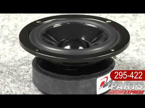 "Dayton Audio Designer Series DS90-8 Extended Range 3"" Speaker"