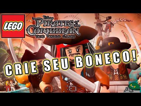 Lego Piratas do Caribe - Criando sua bonequicha
