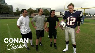 Conan Learns How To Kick A Field Goal - Conan25: The Remotes