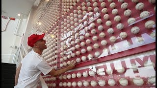 Checking out the Reds Hall of Fame at Great American Ball Park