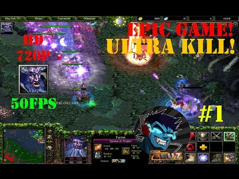 ★DoTa Furion, The Prophet - GamePlay | Guide ★ Very Epic Game! ★ Ultra kill! ★ #1