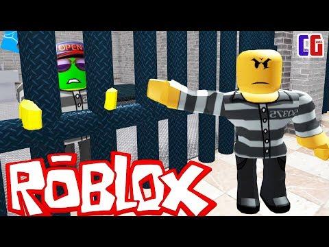 ПОПАЛ В ТЮРЬМУ в РОБЛОКС! Побег из тюрьмы Roblox Мультяшная игра Escape Prison Obby от Cool GAMES