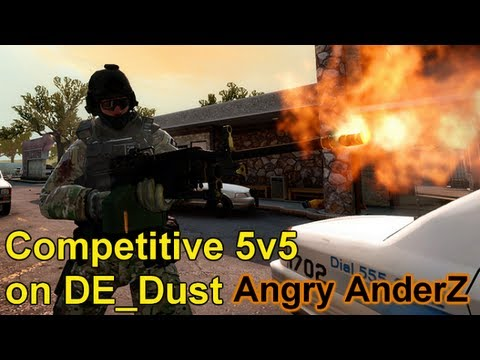 Counter Strike Global Offensive - E16 Angry AnderZ Competitive 5v5 Live Com