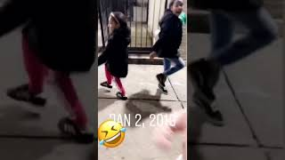 When your daughters, is to funny, dancing in the street