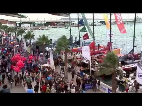 Volvo Ocean Race - Leg 1 Start Full Live Replay 2011-12