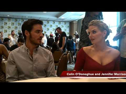 Colin O'Donoghue and Jennifer Morrison Talk ONCE UPON A TIME Season 4 Spoilers at SDCC Press Room