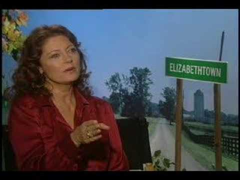 Susan Sarandon interview for the movie Elizabethtown