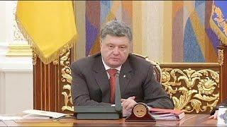Порошенко сообщил, когда в Донбассе настанет
