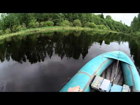 ловля на вэки на малых реках