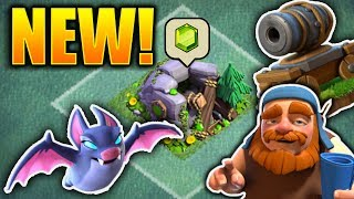 GEM MINE & HERO RELEASED Clash of Clans Update May 2017! New Troops & More in CoC