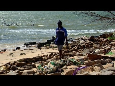 Senegal's former capital threatened by rising sea levels