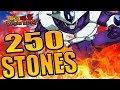 WE PULLED SOME FIRE 250 STONES PHY COORA SUMMONS GLOBAL DOKKAN BATTLE mp3