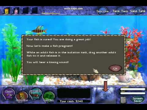 Fish tank games trailer zombie fish tank videos and for Fish tank game