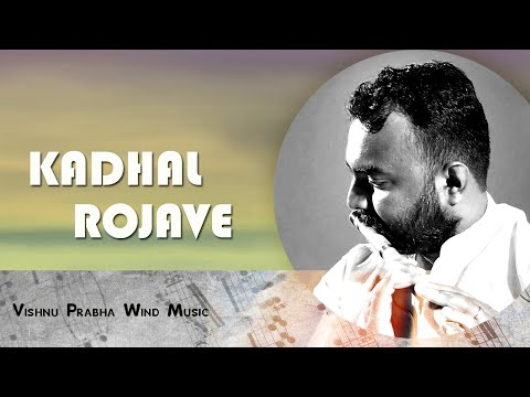 Kadhal Rojave roja Janeman On Flute -by Vishnu Prabha video