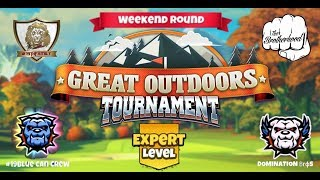 Golf Clash - Great Outdoors - Expert Weekend Round