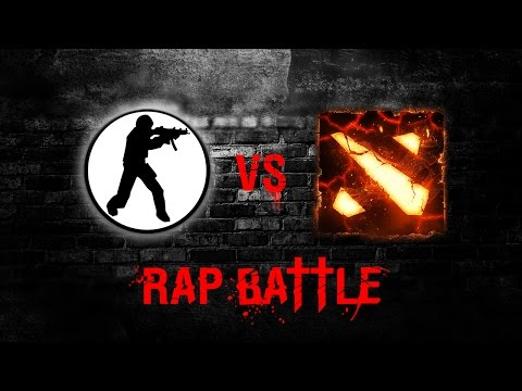 КОНТРА ПРОТИВ ДОТЫ - RAP BATTLE